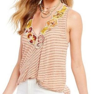 Free People | Frida Striped Tank | Size M